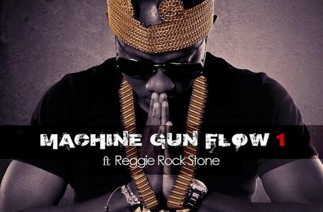 Flowking Stone – Machine Gun Flow ft. Reggie Rockstone (Prod. by Magnom).