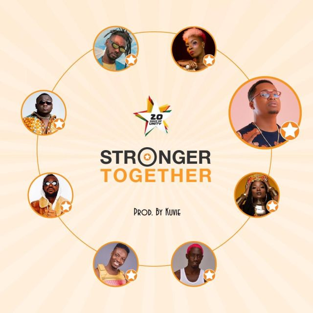 Efya x Yaa Pono x Bosom Pyung x Kojo Cue x Fancy Gadam x CJ Biggerman x Pappy Kojo x Feli Nuna – Stronger Together