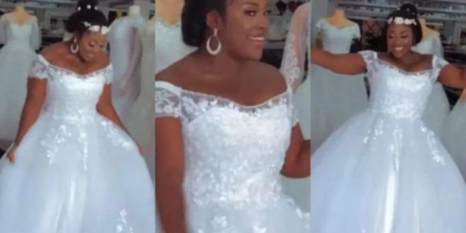 Emelia Brobbey wedding